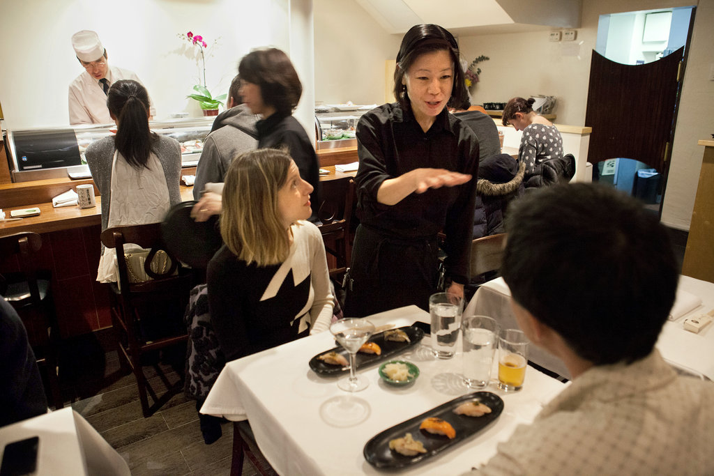 NY TIMES Dining & Wine: Stamping With a Smile of Approval By LIGAYA MISHAN